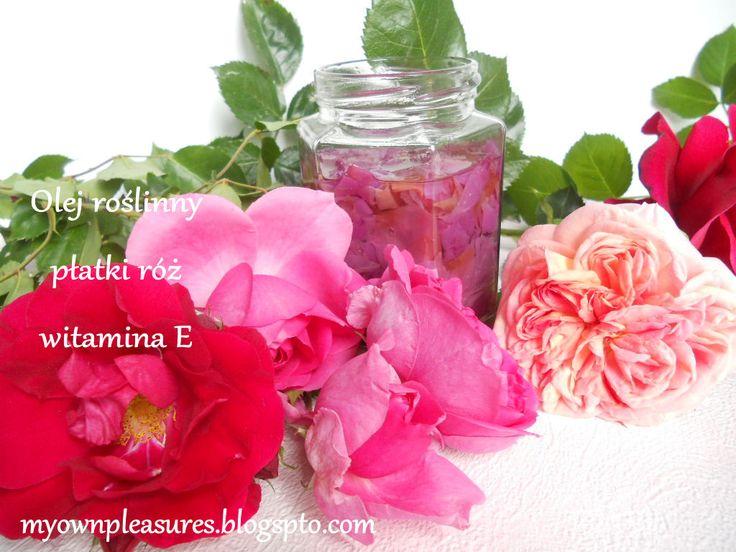myownpleasures.blogspot.com MACERAT RÓŻANY - DIY