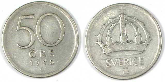 Gamla mynt & sedlar