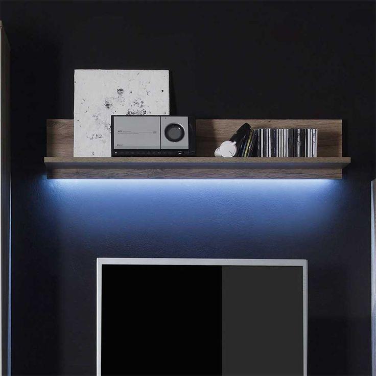 Wandboard In Eiche San Remo LED Beleuchtung Jetzt Bestellen Unter: Https:// Moebel