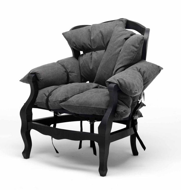 NEWS 2016 7PILLOWS by MOGG / Design by Marcantonio Raimondi Malerba, 2016 Poltrona in massello di faggio completa di 7 cuscini in piuma sfoderabili. Armchair in solid beech wood, completes of 7 feather pillows with removable cover.  #mogg #moggdesign #7Pillows #MarcantonioRaimondiMalerba #Marcantorama #Armchair #Poltrona #Pillows #Cuscini #Interior #Design #InteriorDesign #ItalianFurniture #Italian #Furniture #SaloneDelMobile #iSaloni #SalonedDelMobile2016