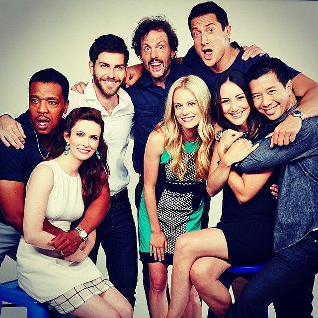 Cast of 'GRIMM'- Nick, Juliette, Monroe, Rosalie, Hank, Captain Renard, Adalind, and Wu