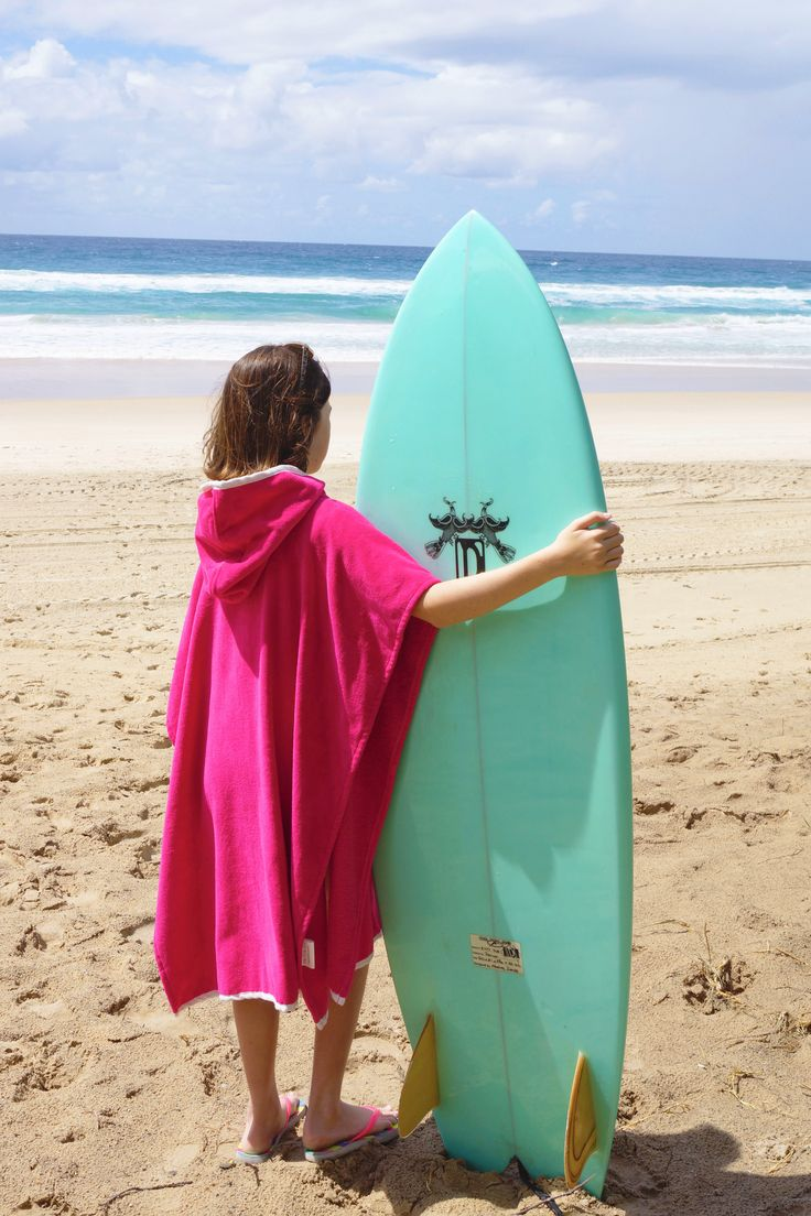 Enjoy your watersports with a Nautical Mile Hoodie Towel. www.nauticalmile.com.au