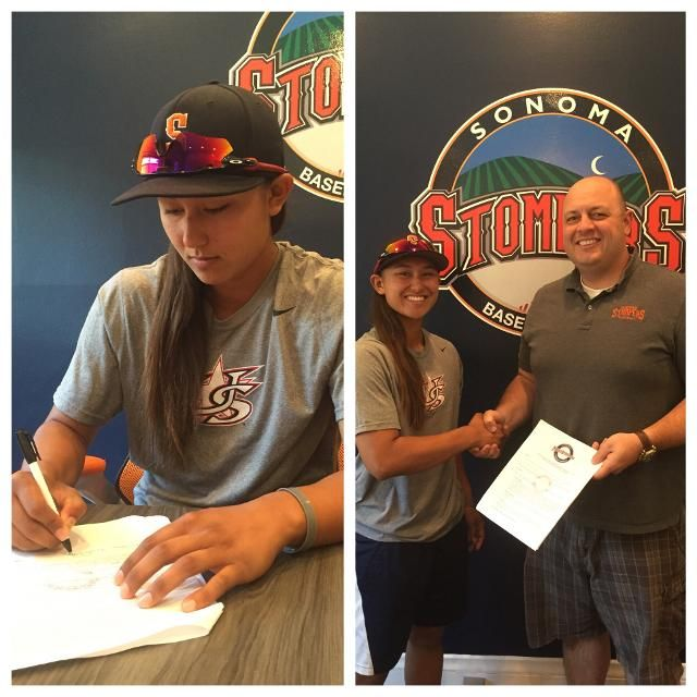 Kelsie Whitmore has been signed by the indie team, the Sonoma Stompers, and their GM Theo Fightmaster.June 29,2016
