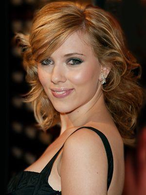 Scarlett Johansson Shoulder Length Hair