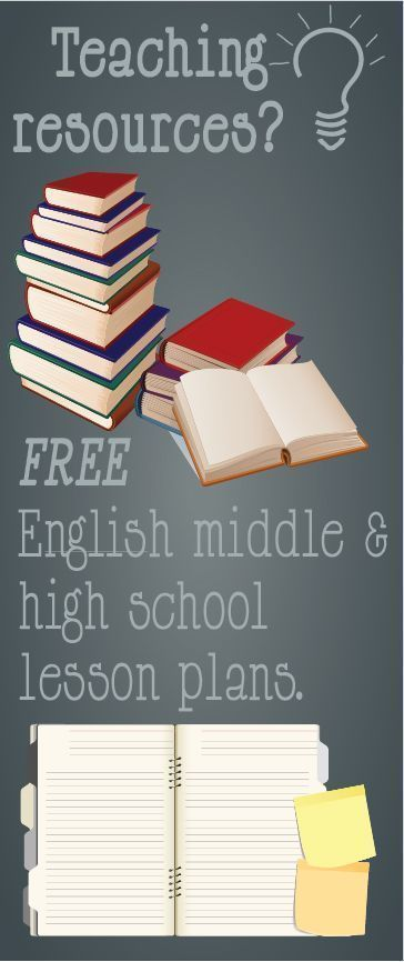 Free middle school and high school lesson plans and teaching resources.