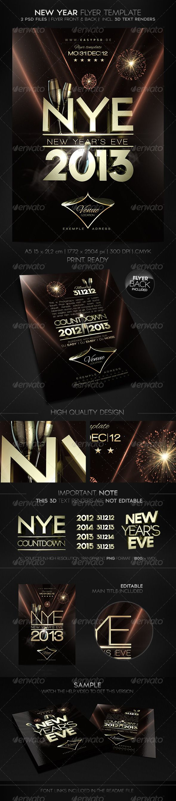 best images about nightlife poster flyer new year flyer template