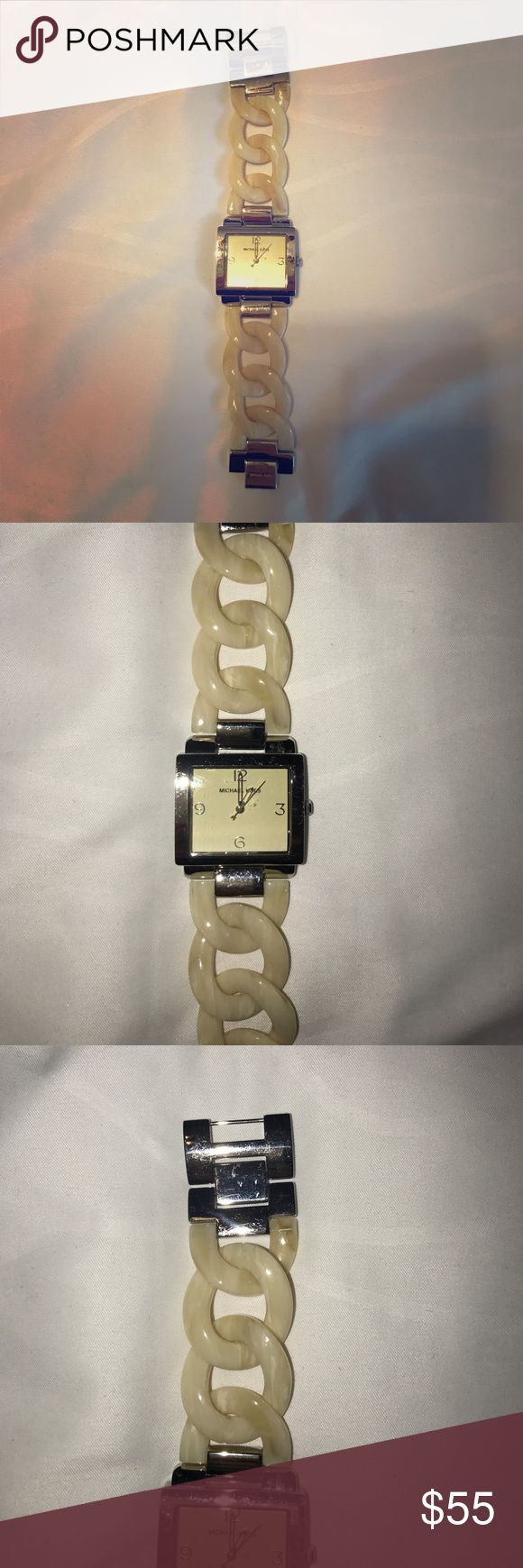 Michael Kors tortoise shell watch Beautiful Michael Kors tortoise shell watch. Good condition. Battery needs to be replaced. Michael Kors Accessories Watches