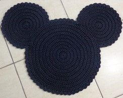 Tapete Sombra do Mickey em Crochê