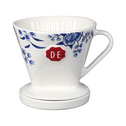 D.E Hylper koffiefilter set - wit blauw, white blue #coffee #HylperHeritage #DouweEgberts