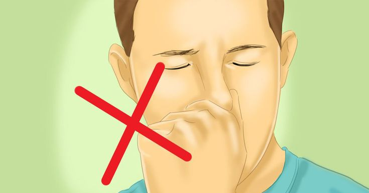 People are often extremely ashamed of having to sneeze while they're in public. So, naturally, they started stopping themselves from sneezing. By doing this you're leaving all of that bacteria that your system wanted to