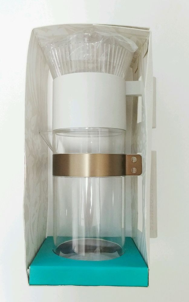 Starbucks Iced Coffee Tea Brewer Pour-Over Style Pitcher BPA FREE 40oz LIMITED EDITION #Starbucks coffee brewer pitcher