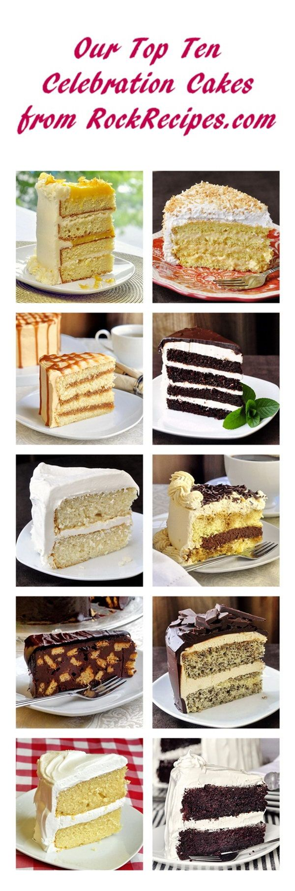 Who wants cake? Check out this drool-worthy collection!  `-:+><=~