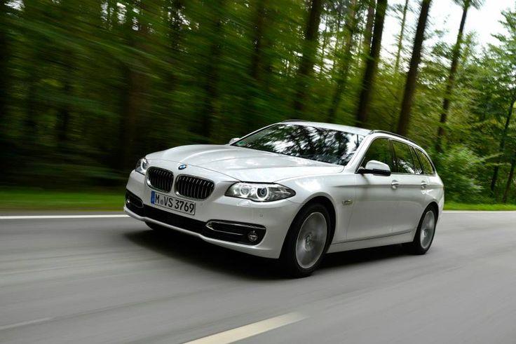 BMW 520d Touring BMW 520d Touring, 190 PS , mineralweiß metallic, Luxury, Leder Dakota Mokka BMW AG