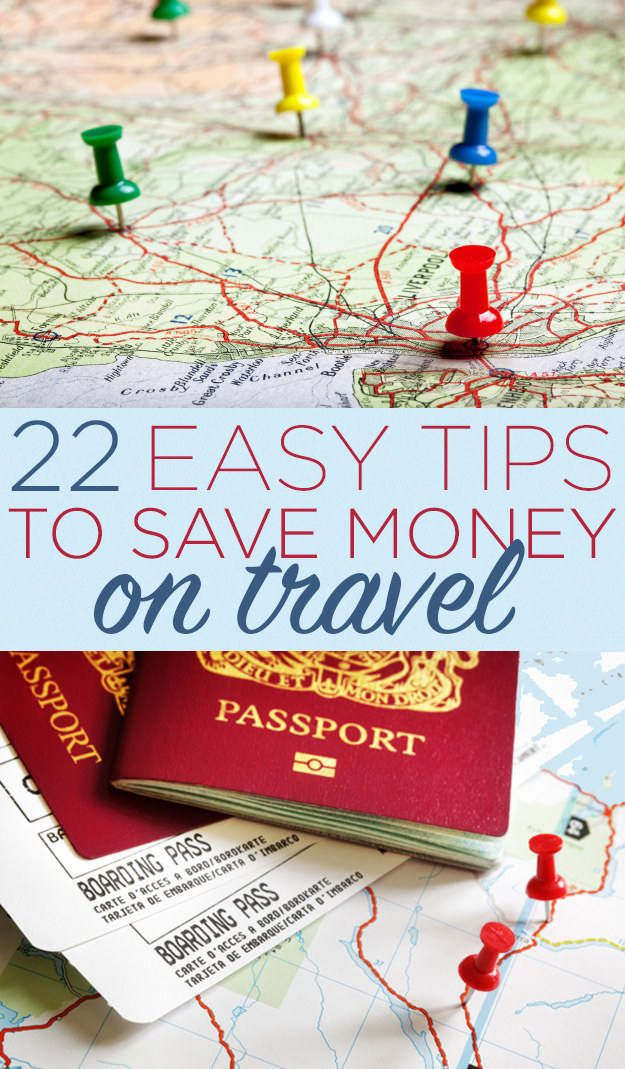 Think traveling has to be expensive? Follow these 22 tips to be a budget traveler.