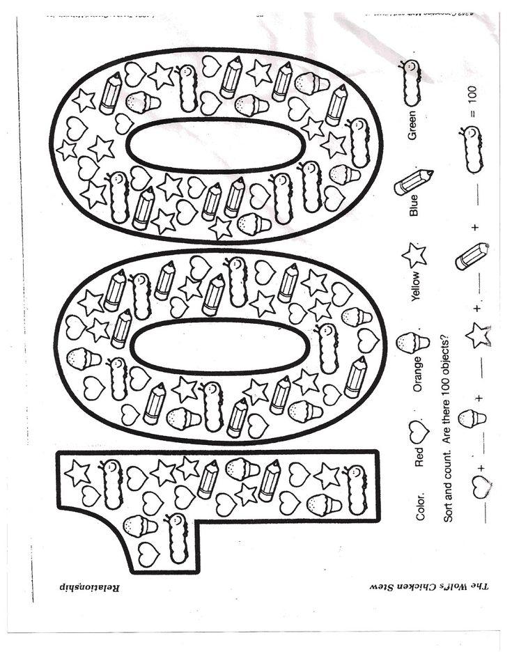 100pdf100.pdf100.pdf 100th Day of School Math Counting
