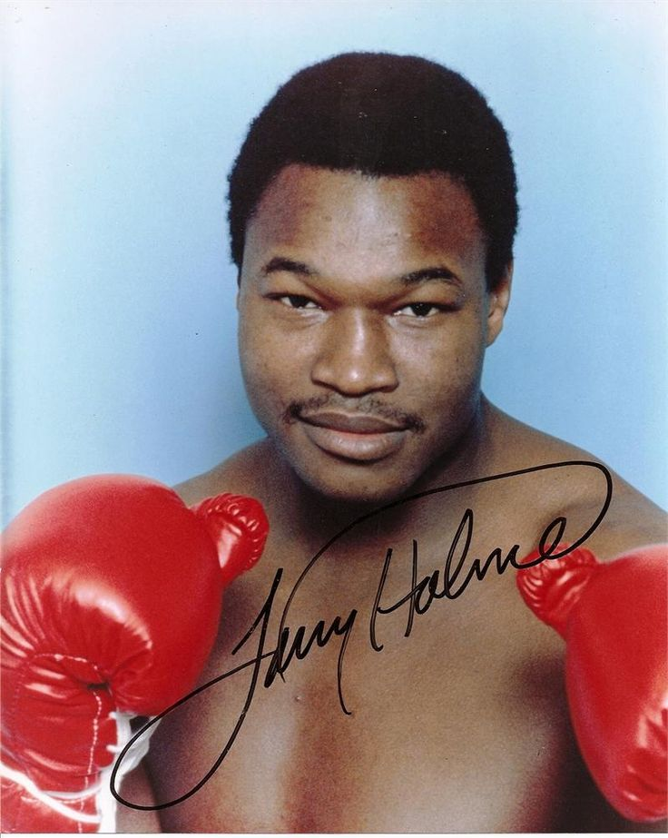 Larry Holmes   Larry Holmes Signed Photo