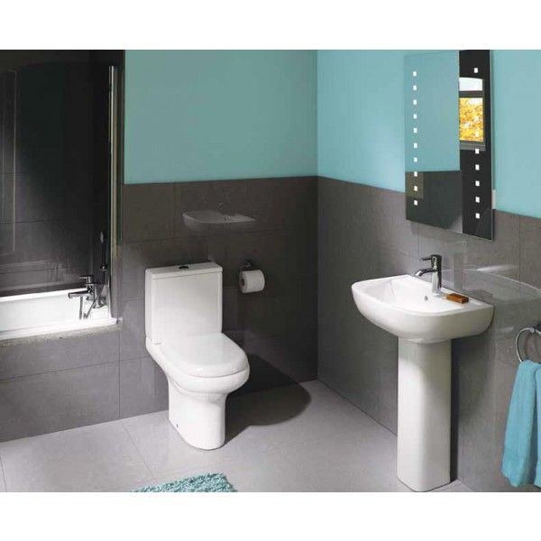 Compact Collection | Best Value Bathroom Suites in Ireland. Flexible and versatile   With no less than 15 pieces including RAKRIMLESS™ extended height WC's and back to wall pans, now with NEW quick release soft close seats as standard and the choice of 7 basins, Compact is one of the most flexible, value for money ranges on the market.