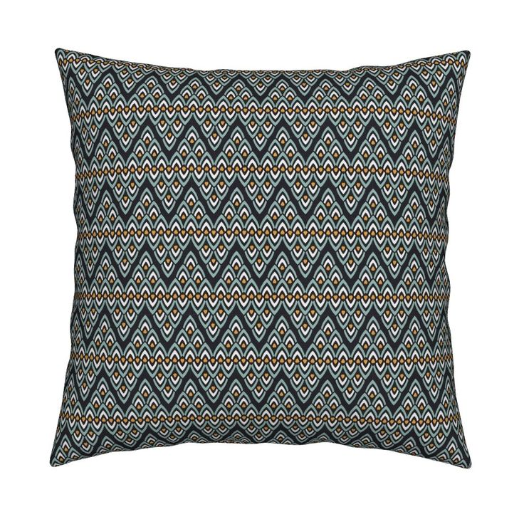 Catalan Throw Pillow featuring Ethnic pattern by milagrosvita | Roostery Home Decor