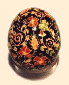 Ukrainian decorated egg