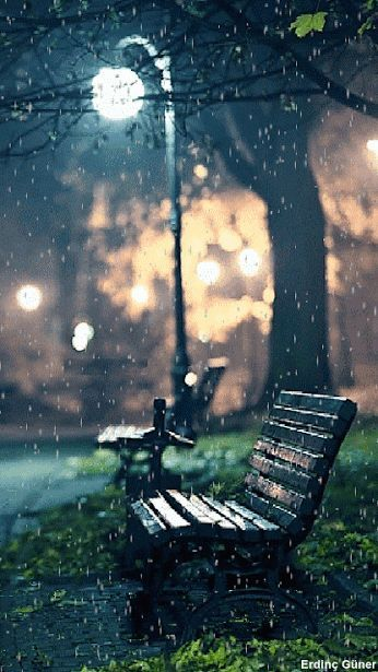 Just need someone to sit along and feel the rain…..