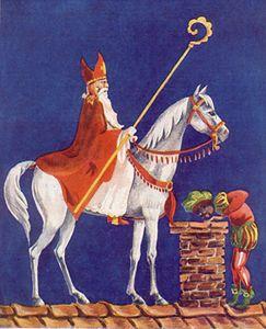 St. Nicolaas weer in ons land