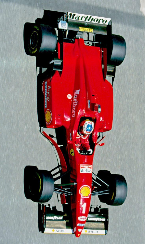 Der Formel 1 Wagen von Michael Schumacher Ende der 90er Jahre.