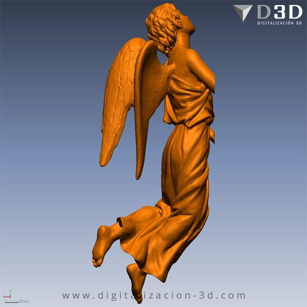 Lateral derecho del ángel izquierdo