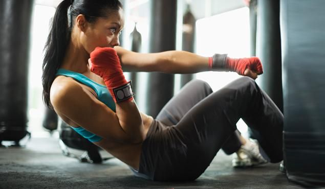 Abs Challenge - This workout will get your belly burning, no matter how strong you are.