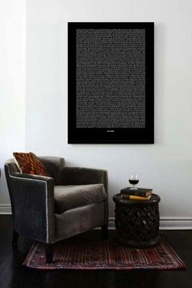 Oscar Wilde Lots of Quotes -  Large Print (A2)