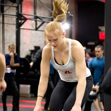CrossFit Exercises with Annie Thorisdottir, Two-Time Champion of the CrossFit Games