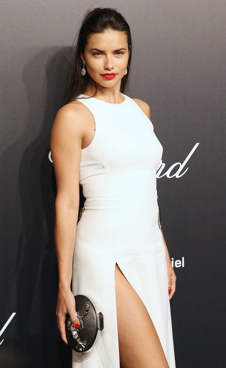 Pin for Later: These Latinas Impressed at Cannes With Their Gorgeous Style Adriana Lima