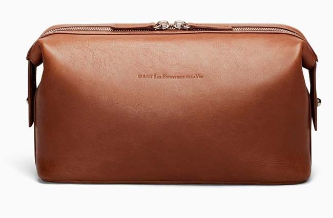 WANT Les Essentials de La Vie - Kenyatta Leather Dopp Kit ...