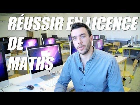 ▶ Réussir en licence de Mathématiques ? - Orientation Post-Bac - YouTube