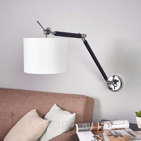 Utdragbar vägglampa Livian beställ säkert & bekvämt på Lamp24.se.