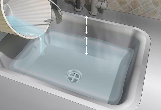 ways to unclog a kitchen sink wikihow