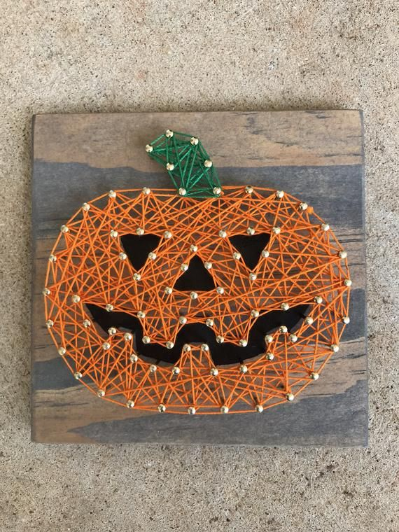 Halloween String Art : halloween, string, String