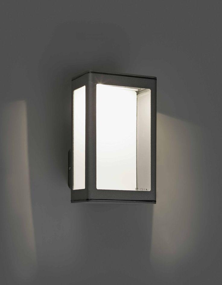 MARE Lámpara aplique gris oscuro