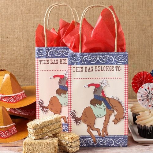 Rodeo Party Bags by Beau-coup