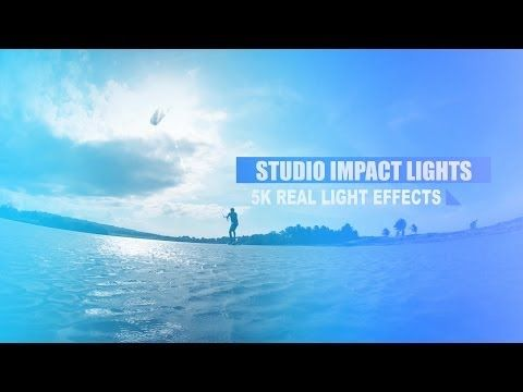 Rampant Studio Impact Lights 2K 4K and 5K Aggressive Film Flash, Light Effects and Edge Lighting for Your Video