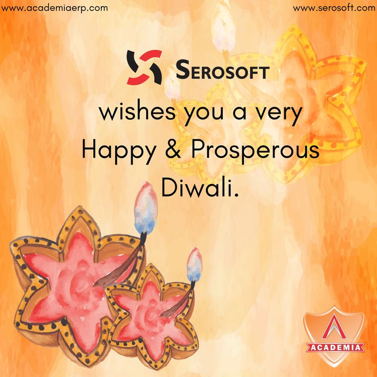 May the light of the diyas guide you on the way to happiness and success - Serosoft Solutions