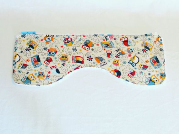 Burper  It's a Hoot burp cloth spit cloth spew by OneCrazyMumma