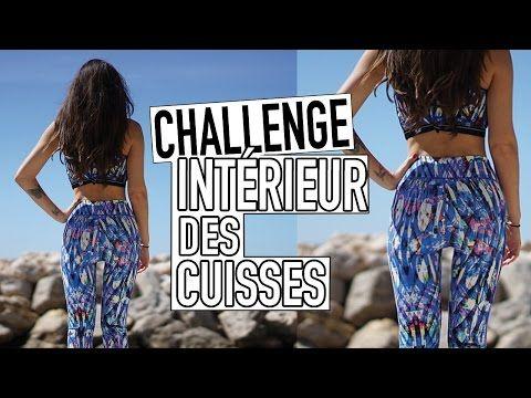 Challenge : Affiner l'Intérieur des cuisses en 3 min | GEORGIA HORACKOVA - YouTube