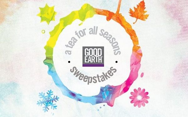 """You could win a Good Earth Tea sampler pack! Enter the GOOD EARTH TEA """"Tea for all Seasons"""" Instant Win Sweepstakes on Facebook for your chance to be a daily winner. The mornings have started …"""
