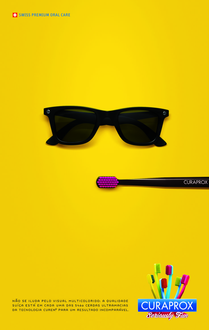 Anúncio escova Curaprox 5460. #curaprox #betc #campaign