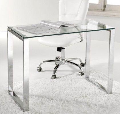 17 mejores im genes sobre muebles oficina en pinterest for Mesa cristal 100 x 50