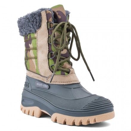Utility, Khaki Green Boys Lace-up Boots - Boys Boots - Boys Shoes http://www.startriteshoes.com/boys-shoes/boots/utility-green-boys-laces-wellies