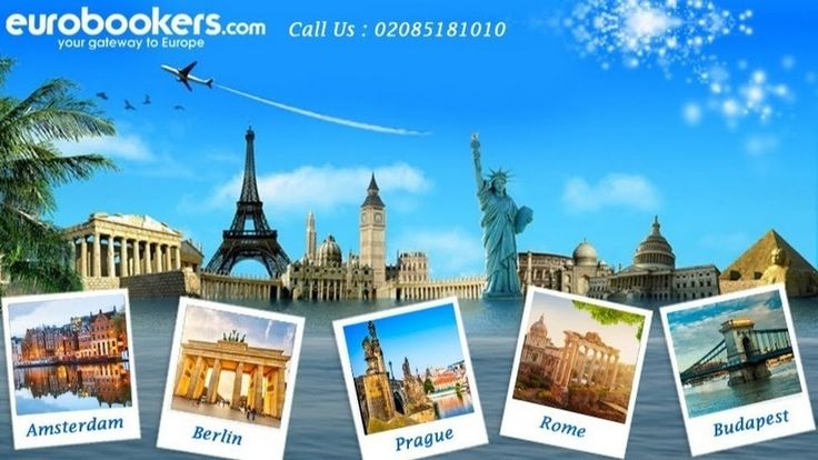 Eurobookers offers worldwide city break deals with cheap flights and hotels. Get the lowest prices on short city breaks, holiday packages and weekend breaks to Amsterdam, Prague, Barcelona, Budapest, Gibraltar, Rome, Copenhagen, Malta, Berlin, Krakow, Venice, Madrid and other worldwide destinations