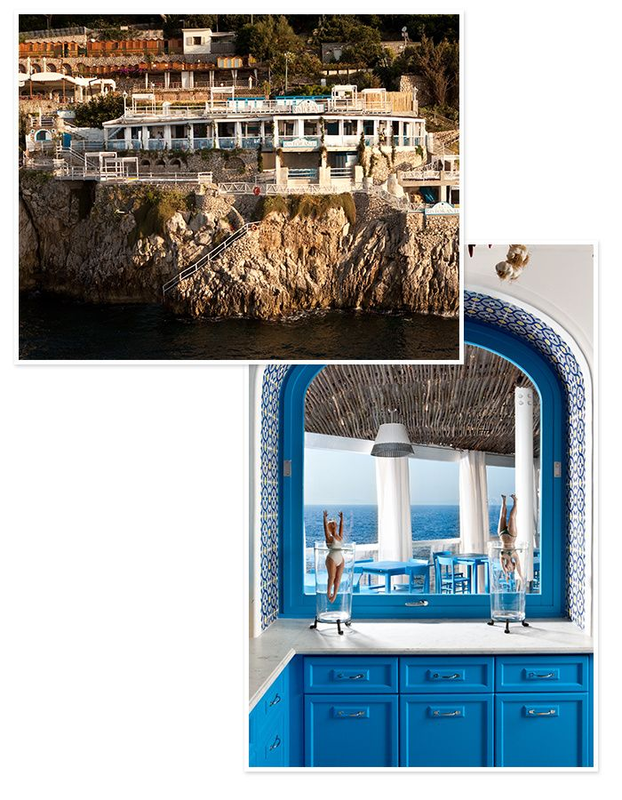 10 hotels pour une lune de miel en Italie Le Capri Palace, sur l'île de Capri
