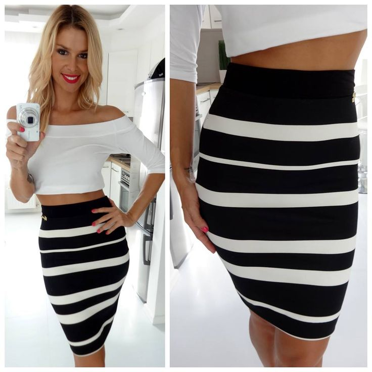 crop top and stripes ::: regina dukai