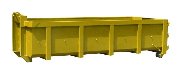 EUR 489 Afvalcontainer 10 m³ - dimensions = L: 600 cm x B: 250 cm x H: 120 cm